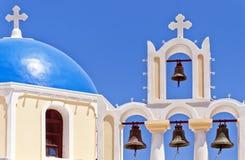 Iglesia 04 de Fira Imagen de archivo