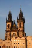 Iglesia 2 de Tyn Foto de archivo