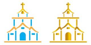 Iglesia ilustración del vector