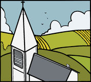 Iglesia libre illustration