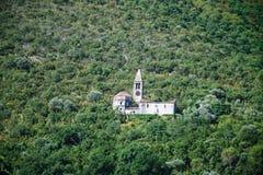 Iglesia abandonada fotografía de archivo
