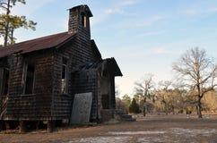 Iglesia abandonada Foto de archivo