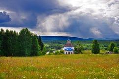 Iglesia abandonada Imagenes de archivo