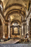 Iglesia abandonada afuera Imagen de archivo