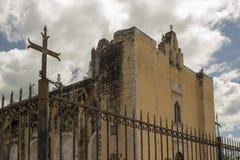 Iglesia abandonada hermosa Fotos de archivo libres de regalías