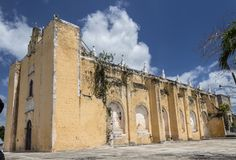 Iglesia abandonada hermosa Foto de archivo