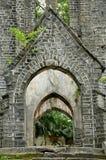 Iglesia abandonada muy vieja Fotografía de archivo