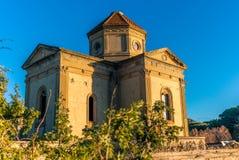 Iglesia abandonada por la playa en Toscana - 3 Foto de archivo