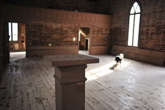 Iglesia abandonada, Rodney, Mississippi Foto de archivo