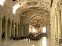 Iglesia adentro Foto de archivo libre de regalías