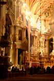 Iglesia adentro Fotografía de archivo libre de regalías