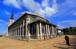 Iglesia adentro el domingo por la mañana Fotografía de archivo libre de regalías