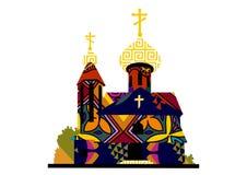 Iglesia adornada Fotografía de archivo