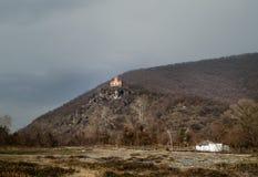 Iglesia albanesa antigua vieja en la montaña de Gakh, Azerbaijan Fotos de archivo libres de regalías