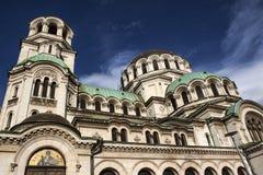 Iglesia Aleksander Nevski, Sofia Bulgaria Fotografía de archivo libre de regalías