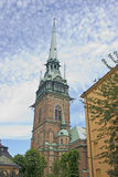 Iglesia alemana, Estocolmo fotografía de archivo