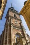 Iglesia alemana o iglesia de St Gertrudis imágenes de archivo libres de regalías
