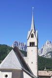 Iglesia alpestre fotografía de archivo