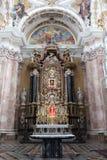 Iglesia, altar foto de archivo