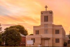 Iglesia Anglicana de Levin foto de archivo
