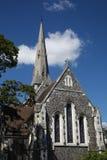 Iglesia Anglicana del St Alban s, Copenhague Imagen de archivo