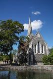 Iglesia Anglicana del St Alban s, Copenhague Fotos de archivo libres de regalías