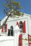 Iglesia Anglicana, isla magnífica del turco, del Caribe Imagen de archivo libre de regalías