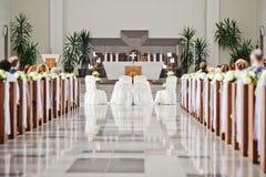 Iglesia antes de casarse Fotografía de archivo