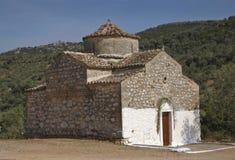 Iglesia antigua abandonada en Grecia antigua Fotografía de archivo libre de regalías