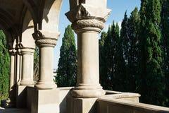 Iglesia armenia de St Ripsime en Yalta Foto de archivo