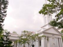Iglesia armenia en Singapur foto de archivo