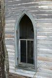 Iglesia arqueada window1 Fotografía de archivo