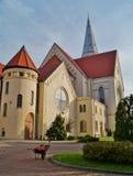 Iglesia, Augsburg evangélica Fotografía de archivo libre de regalías
