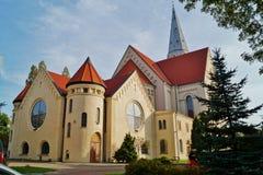 Iglesia, Augsburg evangélica Imágenes de archivo libres de regalías