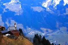Iglesia austríaca   Foto de archivo libre de regalías