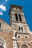 iglesia auténtica en Francia Fotografía de archivo