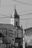 Iglesia B&W Foto de archivo