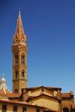 Iglesia Badia Fiorentina Florencia Firenze de la torre Fotografía de archivo libre de regalías