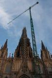 Iglesia bajo construcción Imagenes de archivo