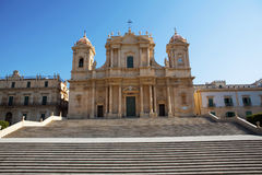 Iglesia barroca Imagen de archivo