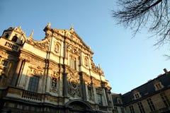 Iglesia barroca   Imagen de archivo libre de regalías