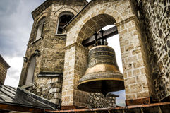 Iglesia Bell en St John, monasterio de Bigorski en Macedonia Fotografía de archivo
