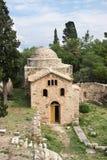 Iglesia bizantina en el monasterio de St John el Bautista en Imagenes de archivo