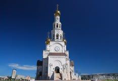 Iglesia blanca imagen de archivo libre de regalías