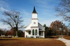Iglesia blanca Foto de archivo