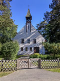 Iglesia blanca Fotos de archivo libres de regalías