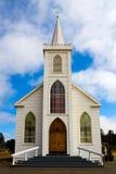 Iglesia blanca Foto de archivo libre de regalías