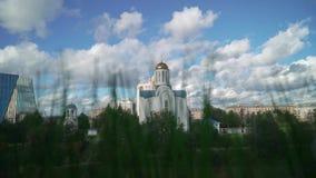 Iglesia blanca del cristianismo metrajes