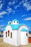 Iglesia blanca en crete 10 fotografía de archivo libre de regalías