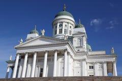 Iglesia blanca en Helsinki Finlandia Fotos de archivo